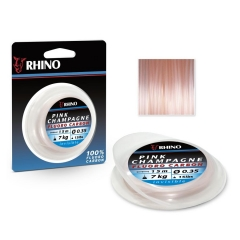 rhino pink champagne fluorocarbon